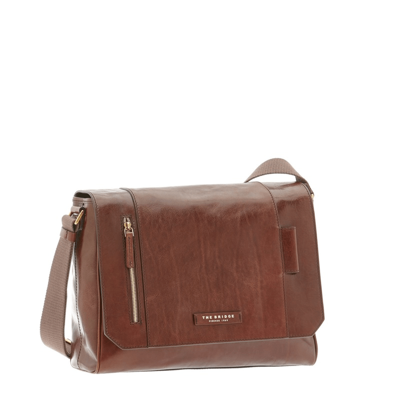 1739275ccaa9 The Bridge messenger with frontal zip ...