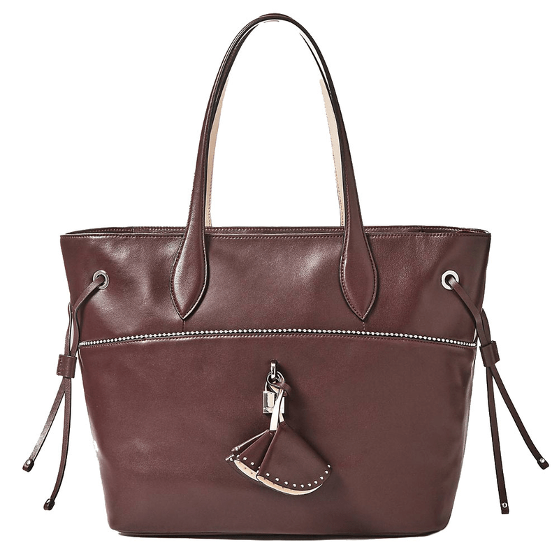 96d35a814 Guess Cleo Shopping bag made of leather ...