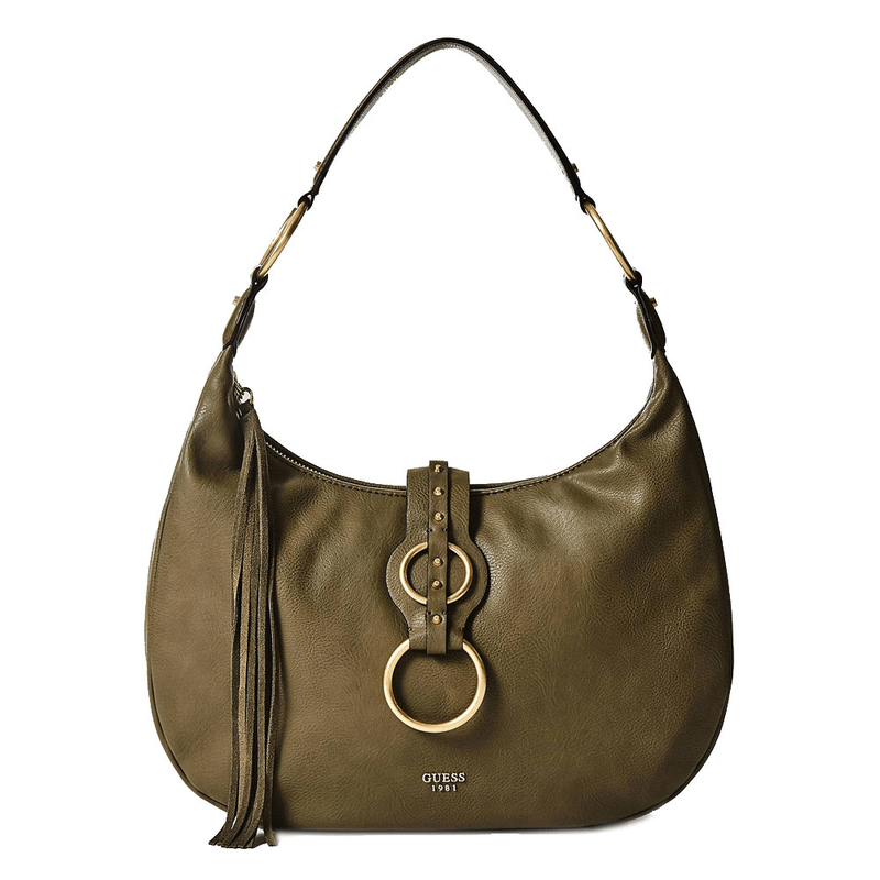 8a3a482960492 Guess Dixie hobo bag with metal details ...