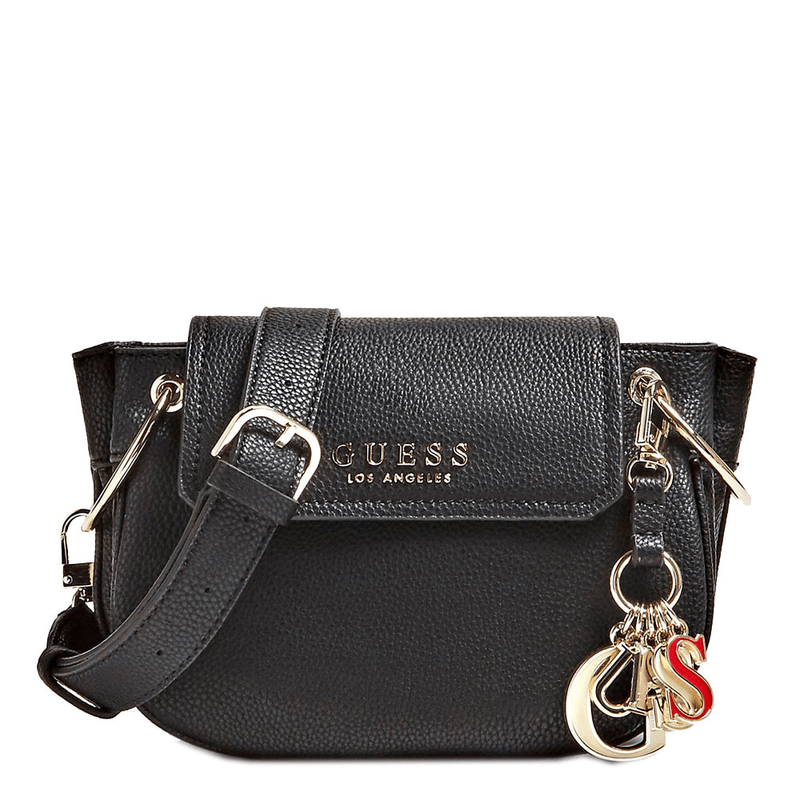 6c4c245bd073 Guess Sally shoulder bag with flap ...