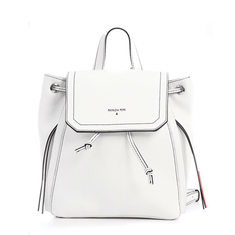 Patrizia Pepe Backpack with flap ... cdb880b2d02